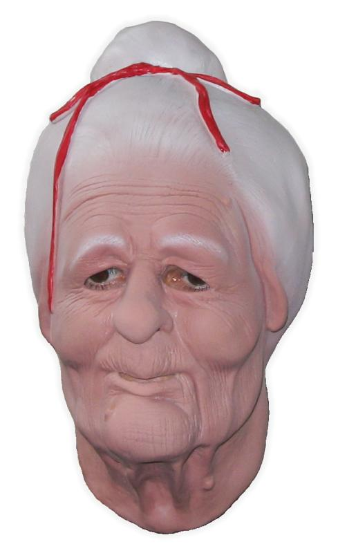 Old Lady Rubber Mask
