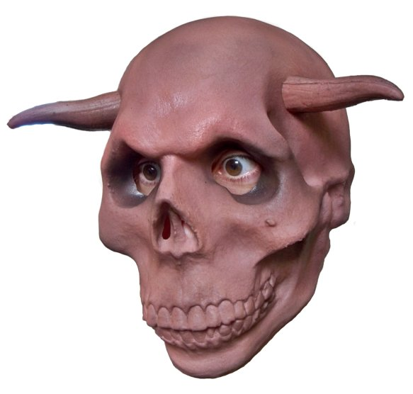 Horror Mask 'Skull with Horns'