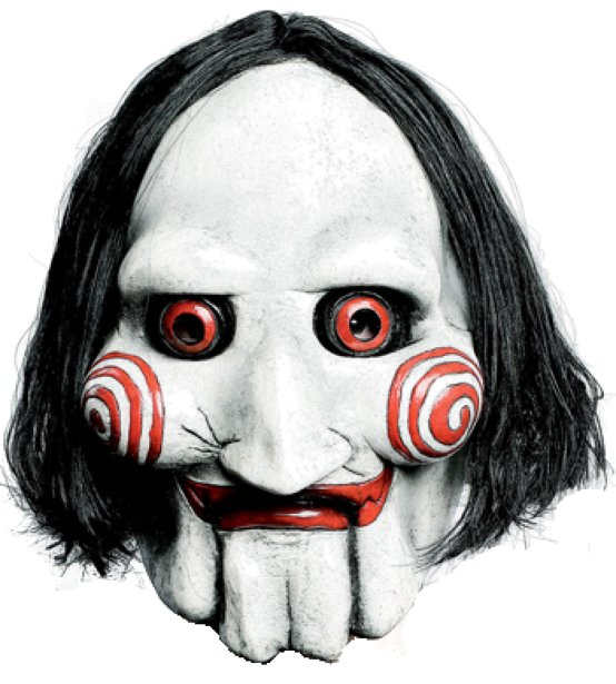 Masque SAW 'Jigsaw Puppet'