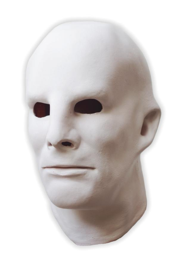 White Latex Face Mask