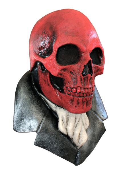 Halloween Mask Red Skull