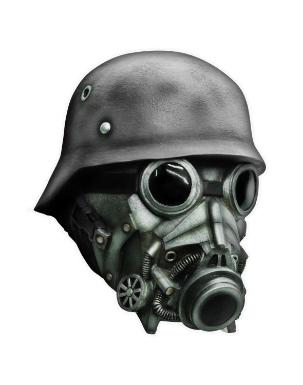 Chemical Soldier Latex Mask