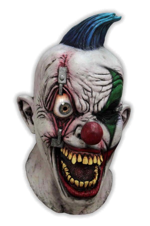 masque clown qui fait peur crazy eye