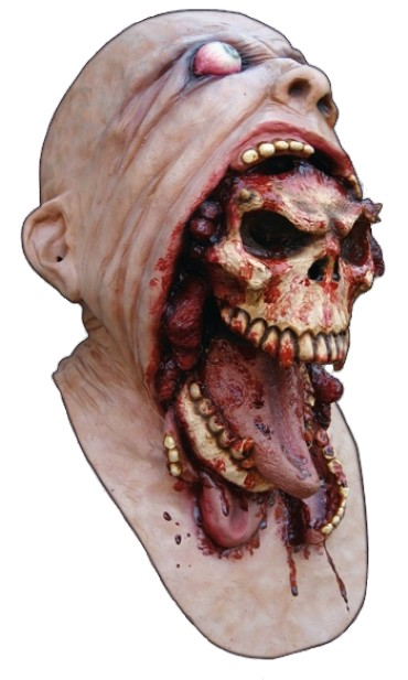Demon Parasite Latex Mask