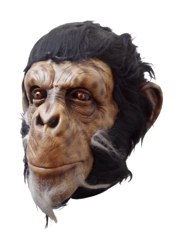 Realistic Chimp Mask