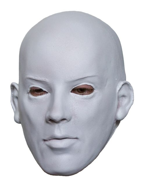 White Face Latex Mask ...