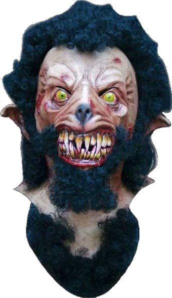 Wolf Man Horror Mask