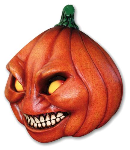 Halloween Costume Mask 'Evil Grin Pumpkin' - Click Image to Close
