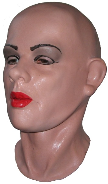 'Julie' Latex Mask for Crossdressing