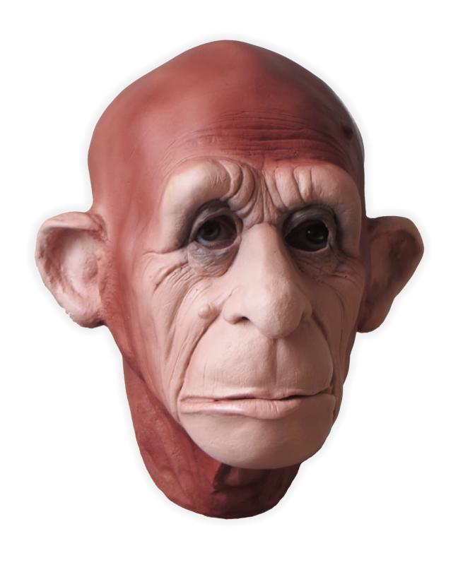 Monkey Mask Bruno Foam Latex - Click Image to Close