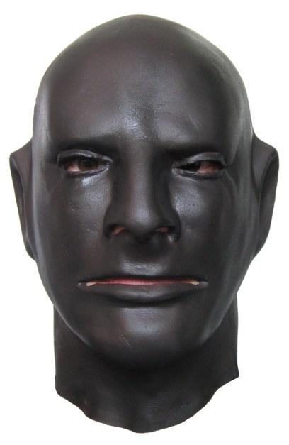 Black Rubber Hood Mask Shop Com
