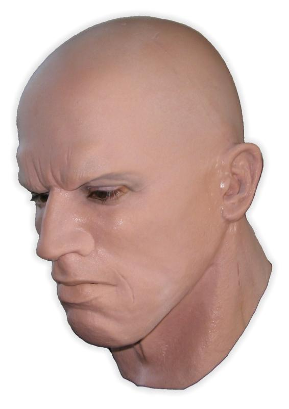 Bodybuilder Realistic Latex Mask