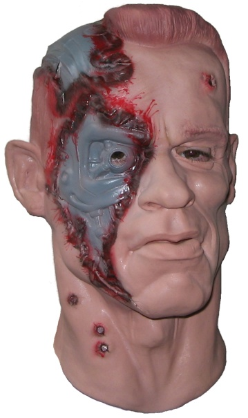 Cyborg from the Future Latex Mask