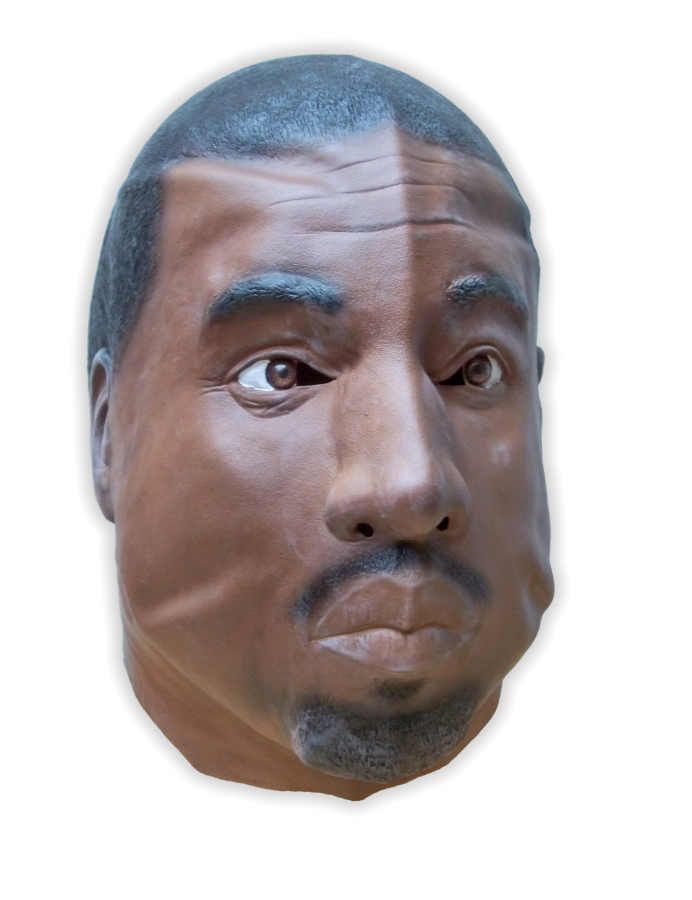 Famous Rapper Mask Latex - Click Image to Close