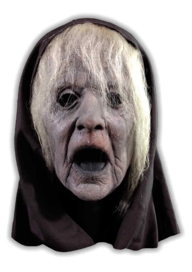 Granny Ghost Latex Mask Halloween