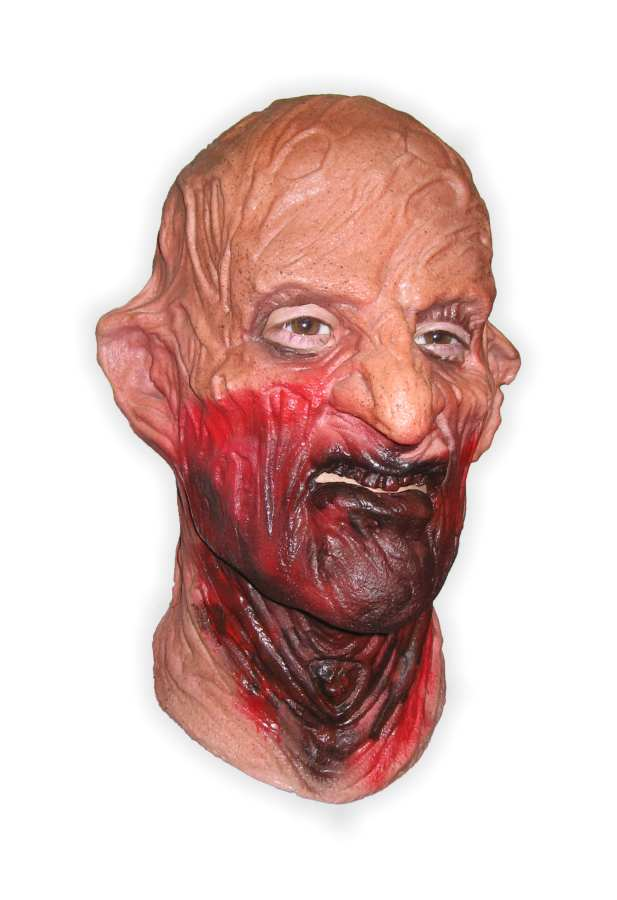 Horrormask made from Latex 'Bloody-Minded'