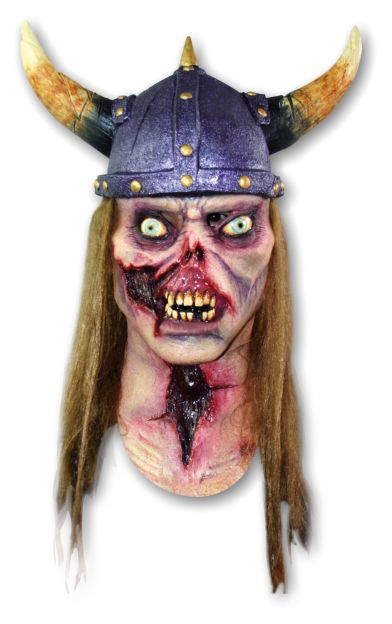 Halloween Mask 'Zombie Viking' - Click Image to Close