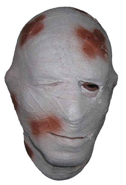 Horror Latex Mask 'Bandaged Head'