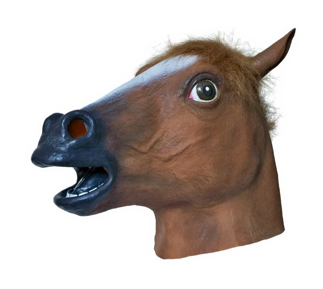 Horse Latex Mask