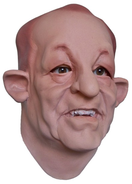 Human Face Mask made of Latex 'The Entertainer'