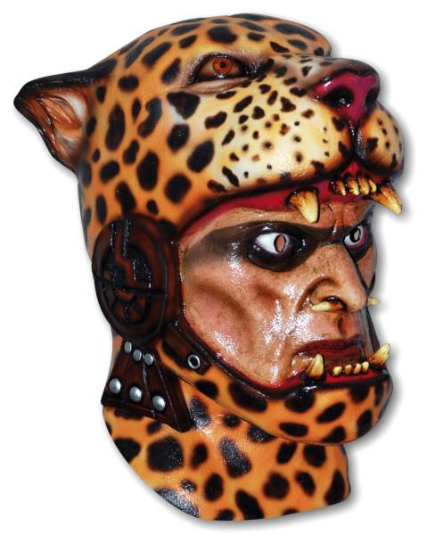 Costume Mask 'Knight of the Jaguar'