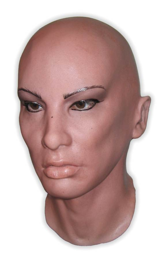 Latex Mask of a Female Face 'Beatriz'