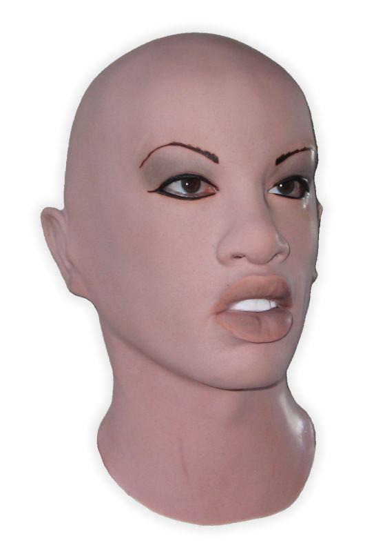 masque visage femme silicone