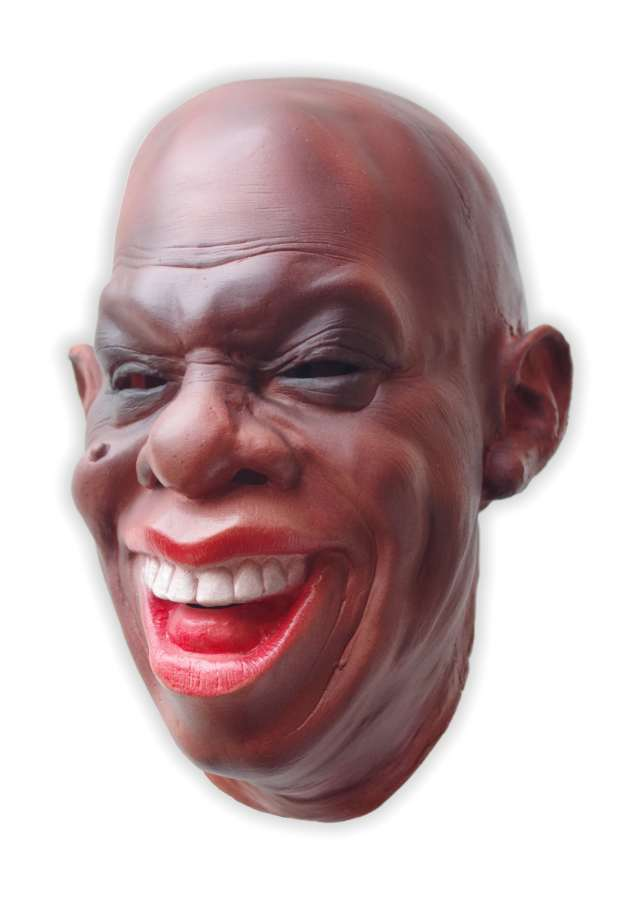 Louis Armstrong Latex Mask