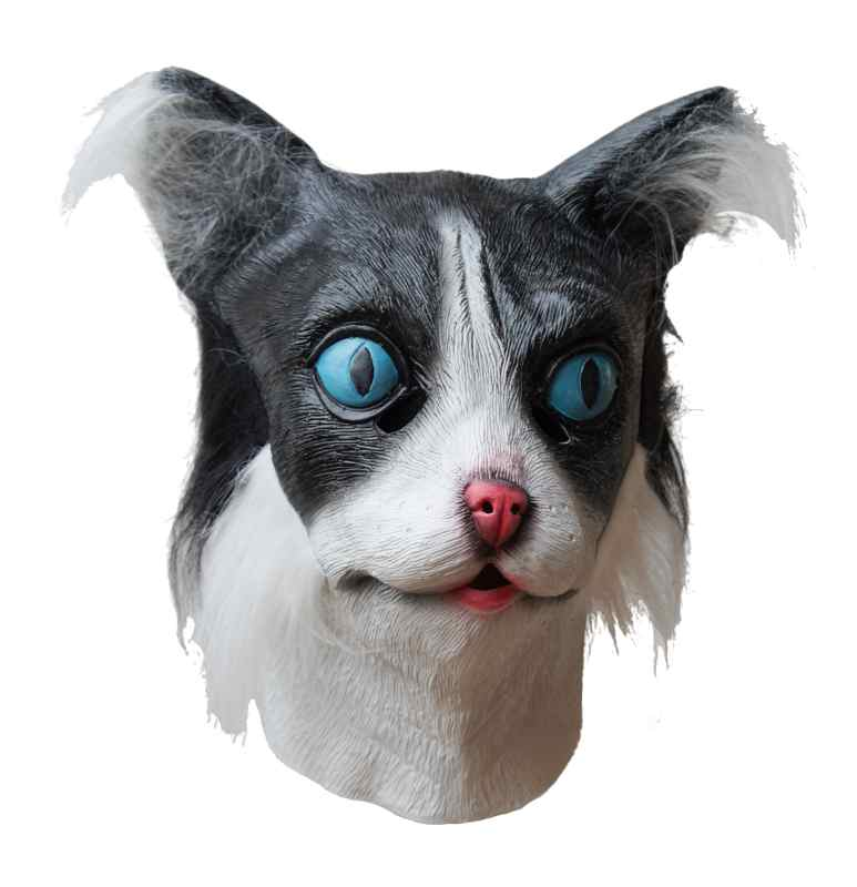 Funny Cat Mask Latex