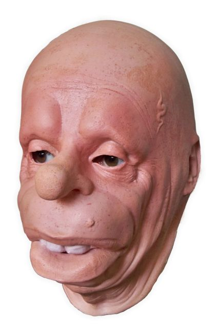 Latex Face Mask 'Big Lips'