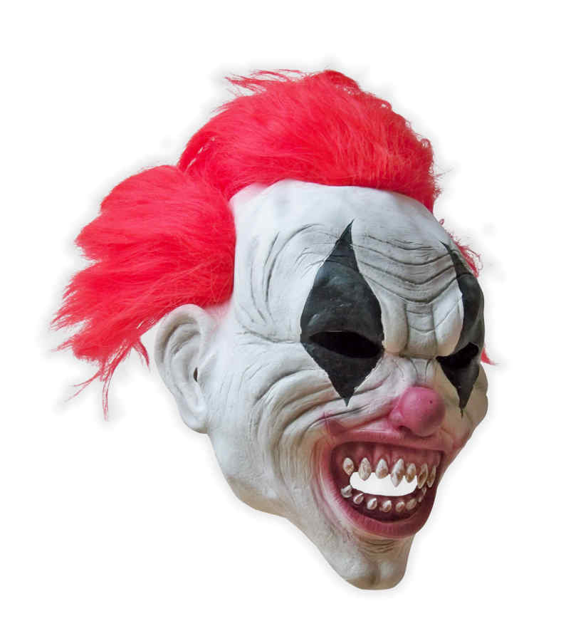 Latex Horror Clown Maske 'Smiley'