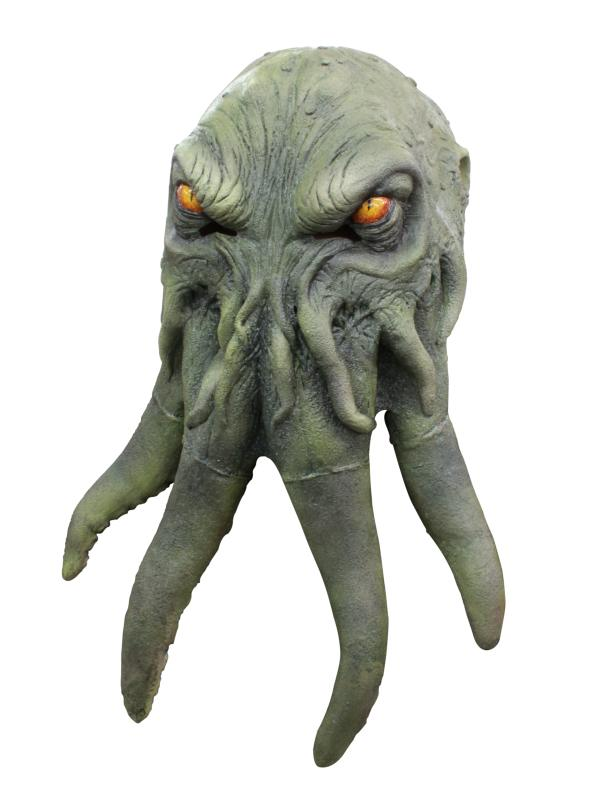 Cthulhu Mask Green - Click Image to Close