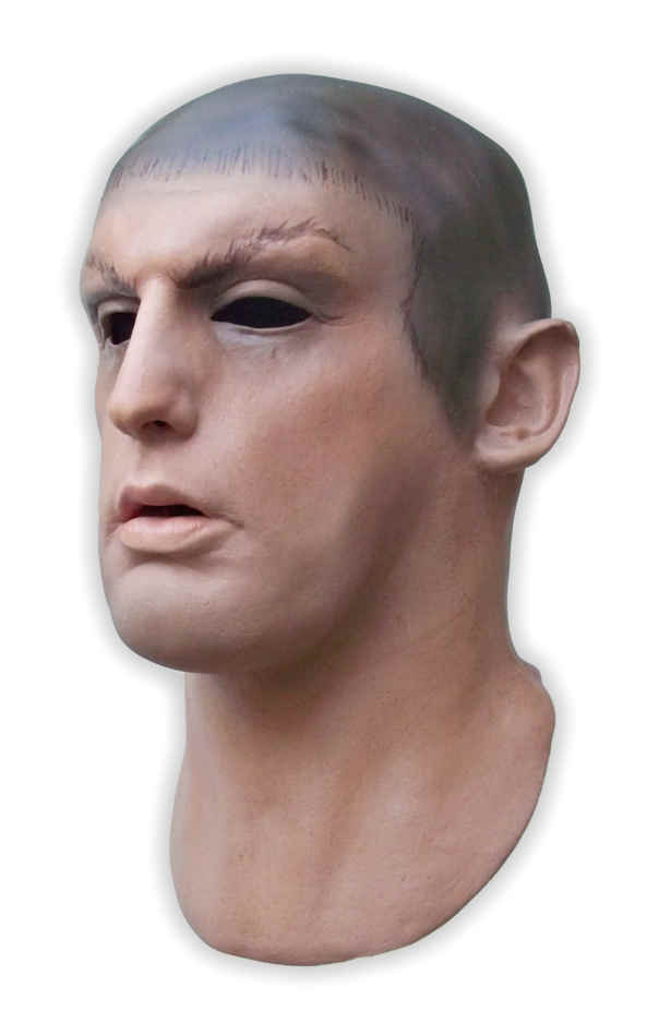 Latex Mask Male Face Real 'Logan' - Click Image to Close
