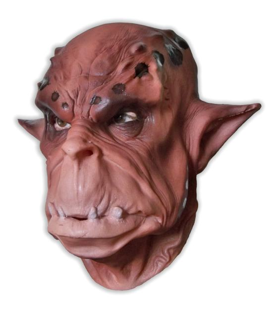 Brown Orc Mask