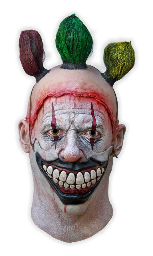 Twisty Clown Halloween Latex Mask
