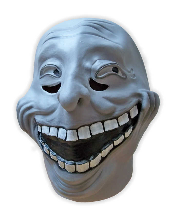 Troll Face Meme Mask Latex Mask Shop Com