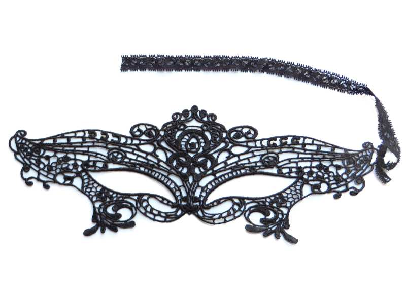 Black Lace Masquerade Mask XC001
