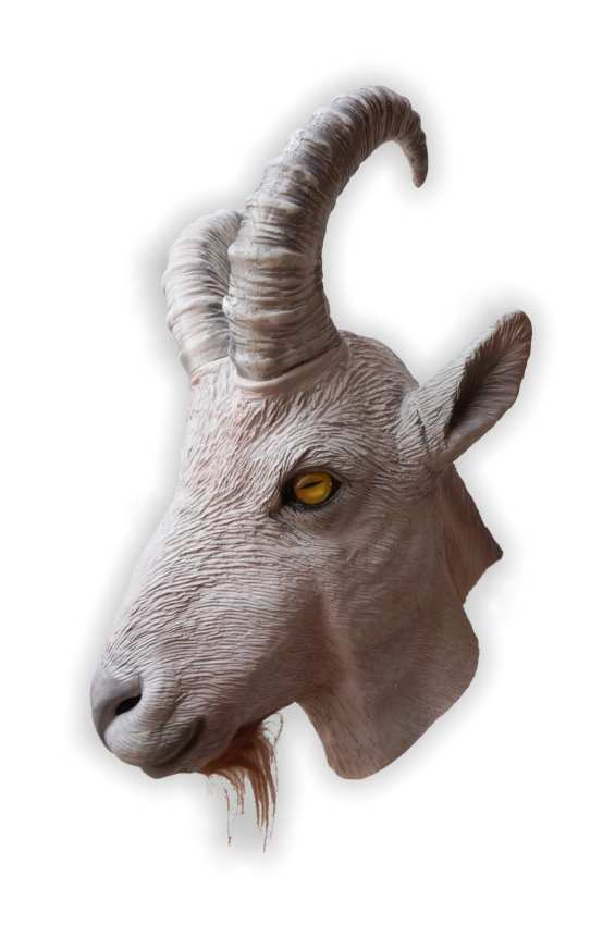 Ibex Capricorn Latex Mask