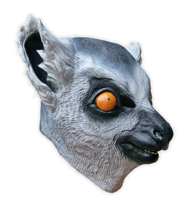 Lemur Mask Latex