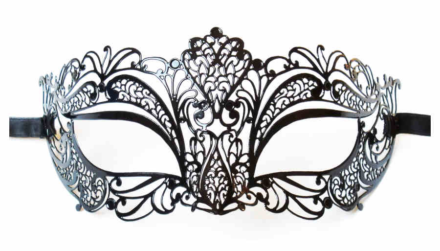 Venetian Filigree Mask 'Doriana'
