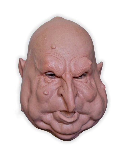 Fat Man Mask Foam Latex - Click Image to Close