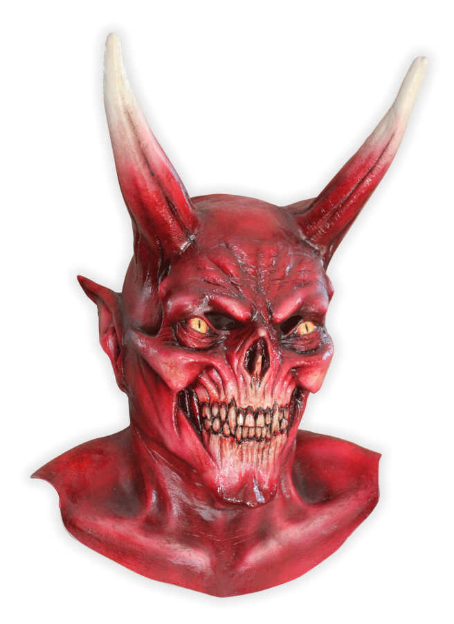 Devil Latex Mask 'Samson'