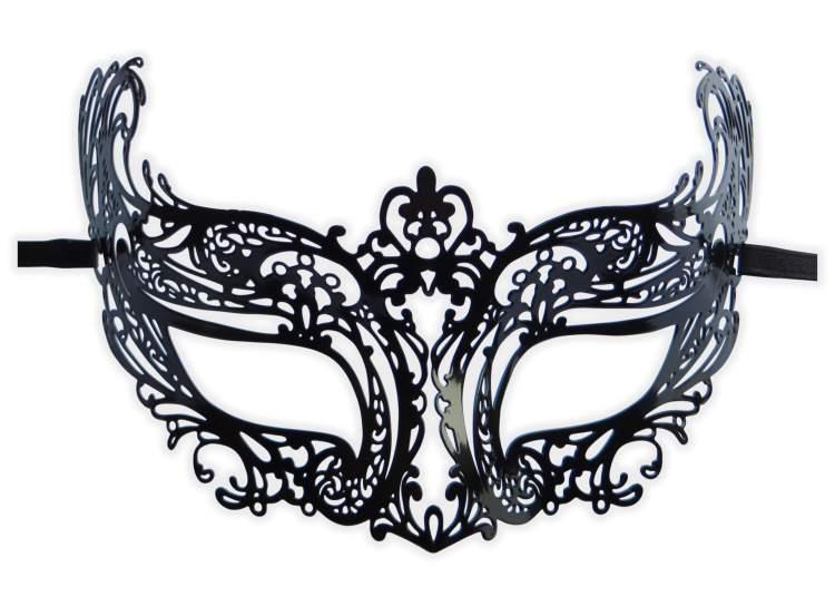 professionnel de premier plan original chaussures d'automne Masque Loup Dentelle Noir 'Vanessa' : Mask-Shop.com