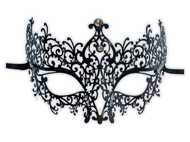 masque loup en metal femme 39 adelais 39 mask. Black Bedroom Furniture Sets. Home Design Ideas