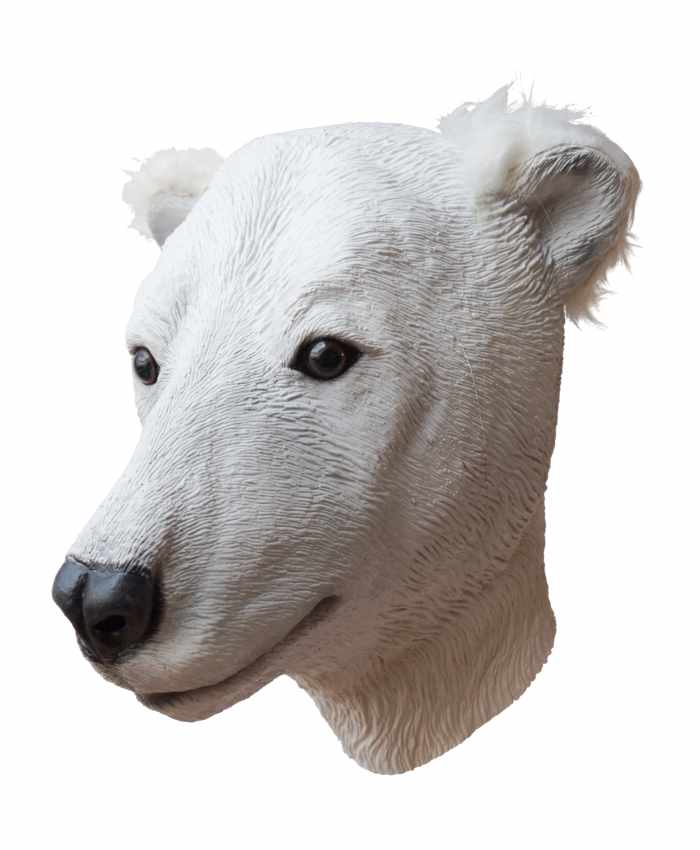 Polar Bear Latex Mask