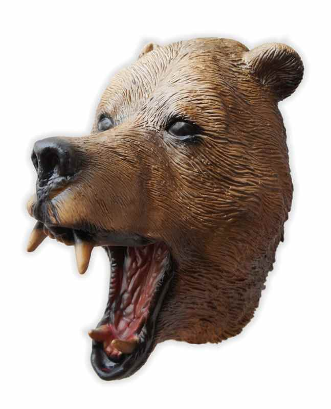 Latex Grizzly Bear Mask