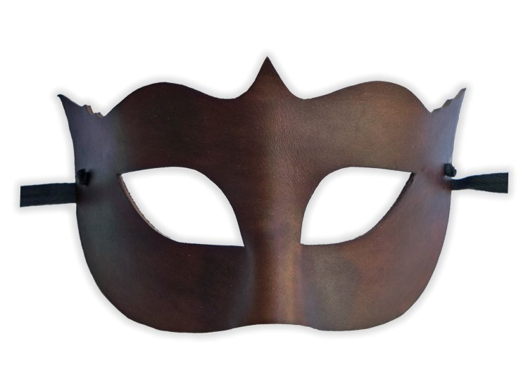 Leather Mask Venice Brown