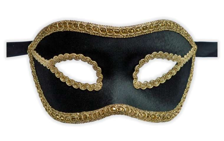 masque venitien velours noir mask. Black Bedroom Furniture Sets. Home Design Ideas