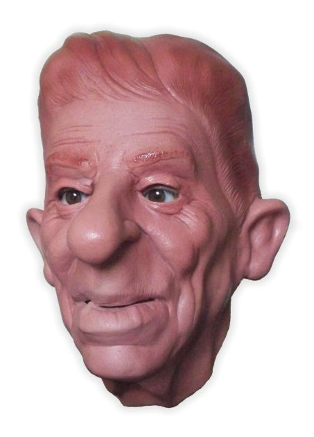 Latex Mask 'The Dodderer'