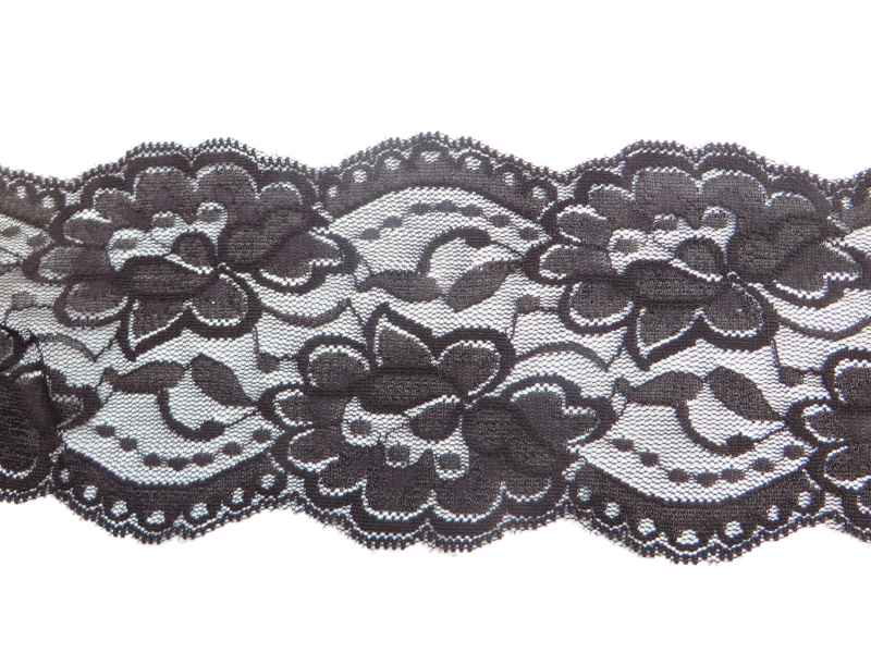 Lace Mask Black Veil XC009
